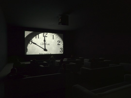 Christian Marclay The Clock installation view