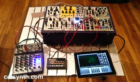 iPad and Eurorack modular