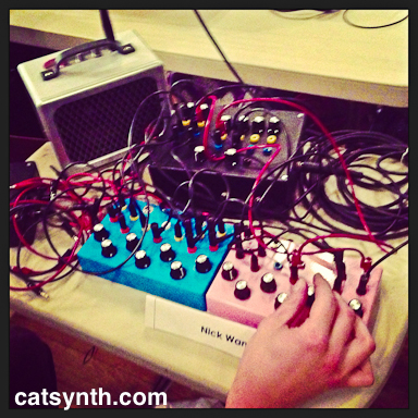 Nick Wang synth demo