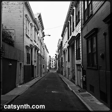 Japser alley, North Beach