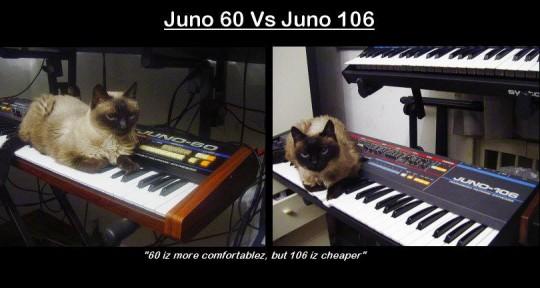 Juno 60 vs Juno 106