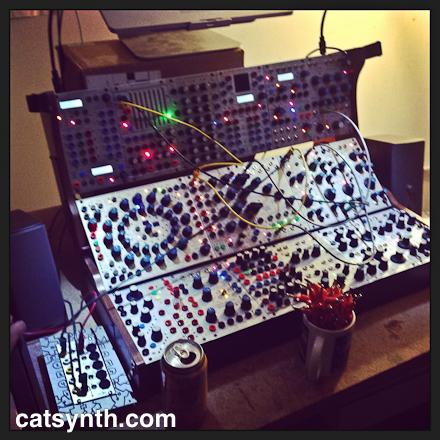 Buchla modular synth