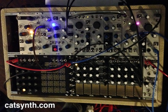 Make Noise modular synth